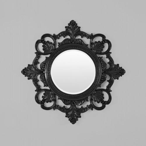 Vogue Black Gloss Mirror 117X117