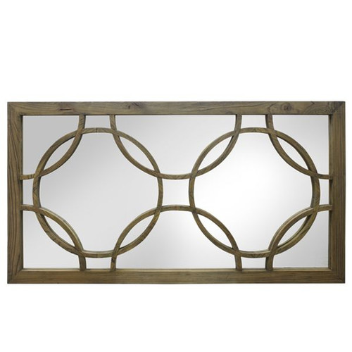 Deco Wall Mirror - Reclaimed Elm