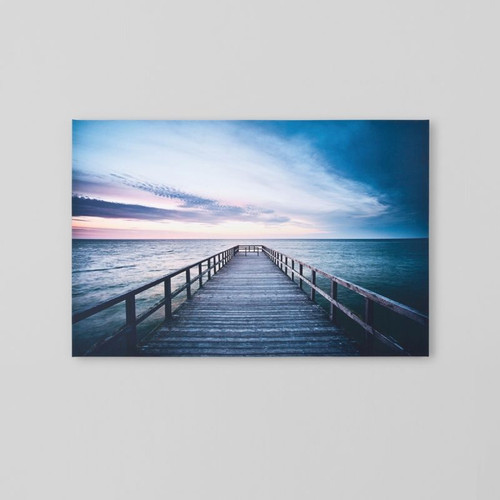 Canvas Print: Boardwalk Landscape