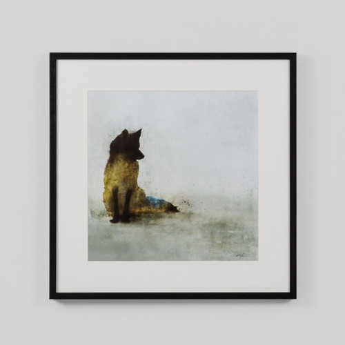 Framed Print: Friendly Fox