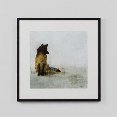 Framed Print: Friendly Fox