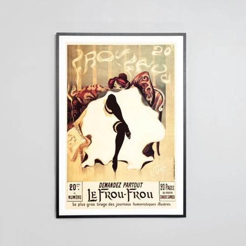 Framed Print: Le Frou Frou