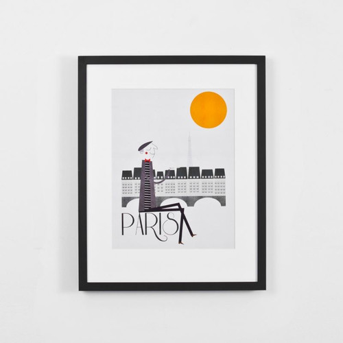 Framed Print: Paris