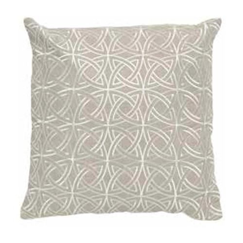 Imogen Circlular Stitch Linen Cushion Medium