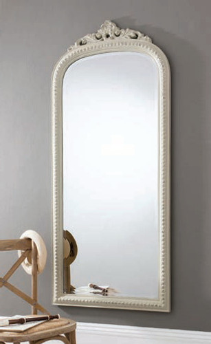 "Eden Mirror Vintage White 68x29"""" Gallery Direct"""""