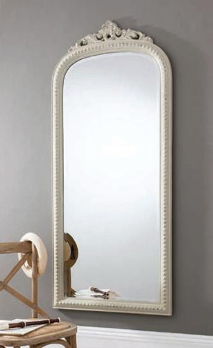 "Eden Mirror Vintage White 68x29"""