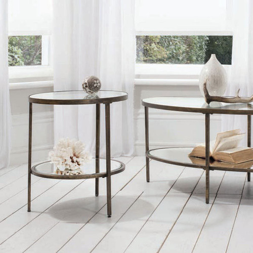 Henley Glass Side Table