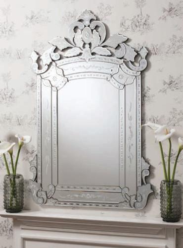 "Leyfield Mirror 58x39"""