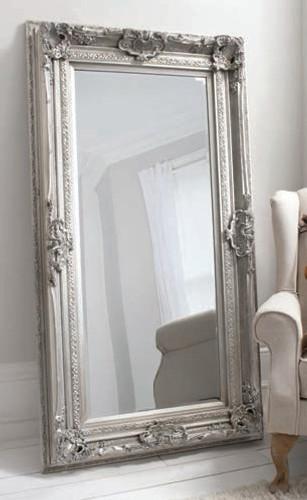 "Valois Mirror Silver 72x38"""