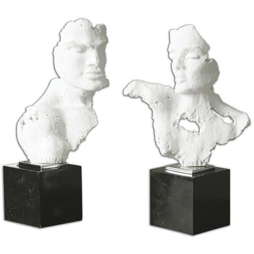 Busts Sculpture - Set of 2