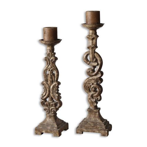 Gia Candleholders - Set of 2