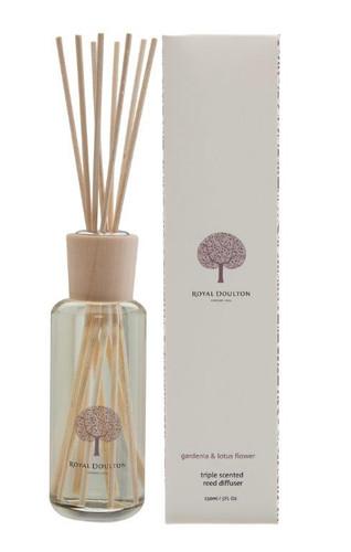Royal Doulton 150mL Reed Diffuser - Gardenia & Lotus Flower
