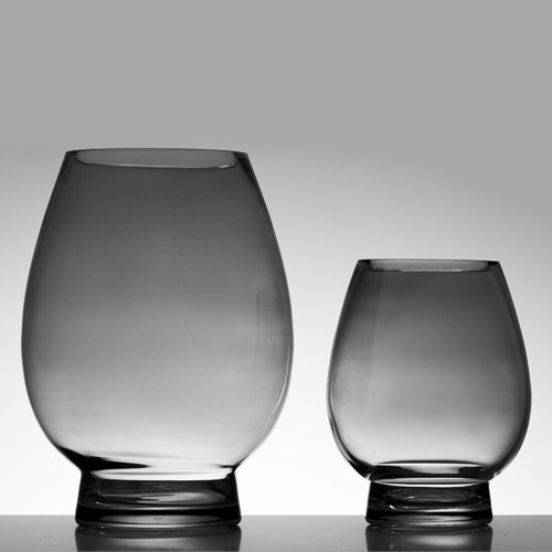 Oval Vases (shown in black, small and medium)