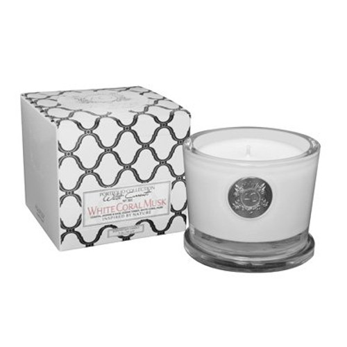 White Coral Musk - Candle Small