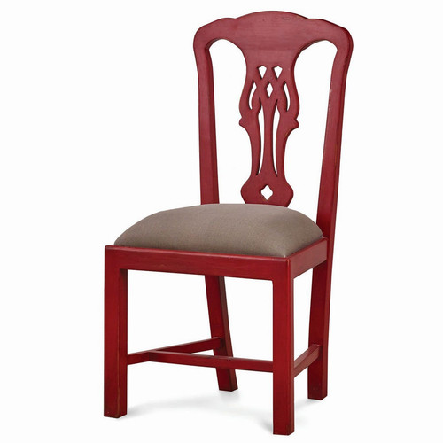 Lincoln Dining Chair - Size: 107H x 56W x 51D (cm)