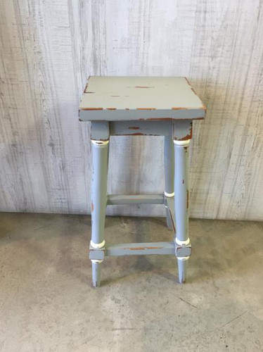 Provence Counter Stool - Grey Heavy Distressed /WHD