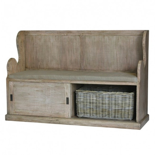 Lincoln Entry Bench large - Light Antique Oak /FB34