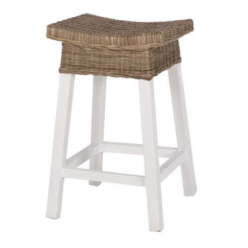 Sorrento Rattan Stool