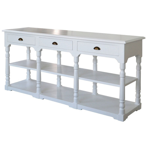 Normandy Console Table - White