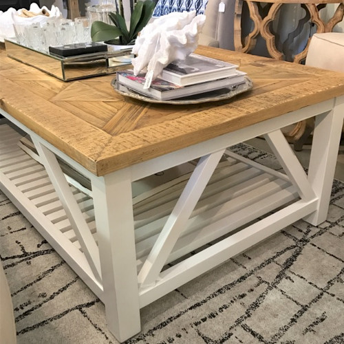 Positano Parquet Coffee Table