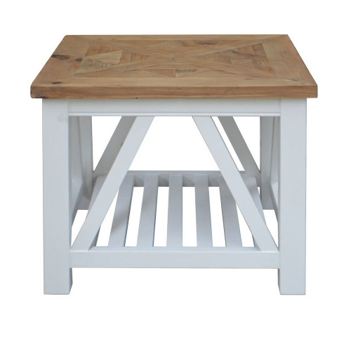 Positano Parquet Side Table