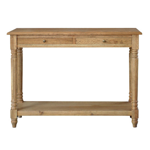Remy Console Table - Natural Oak