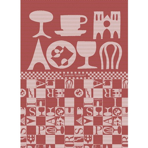 Tea Towel BISTROT ROUGE
