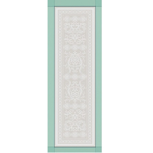 Table Runner JARDIN A LA FRANCAISE Celadon