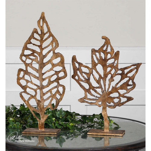 Hazuki Sculpture - Set of 2 by Uttermost