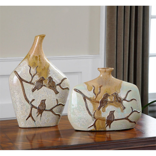 Pajaro Vases - Set of 2