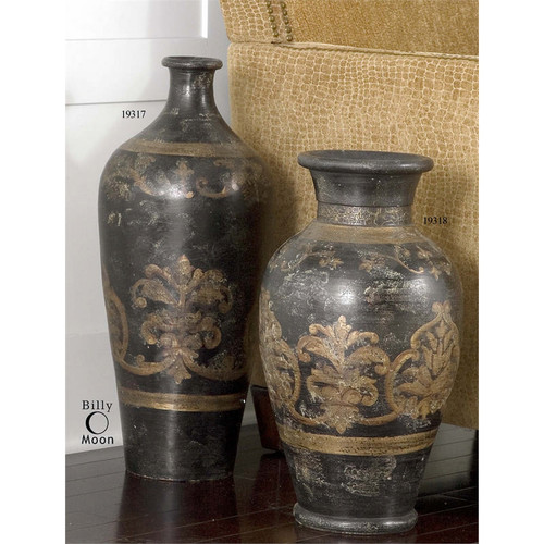 Mela Tall Vase by Uttermost