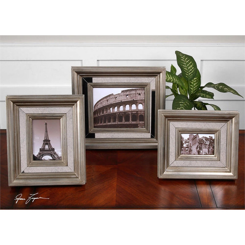 Hasana Photo Frames - Set of 3 by Uttermost
