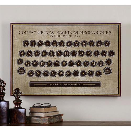 Antique Keyboard