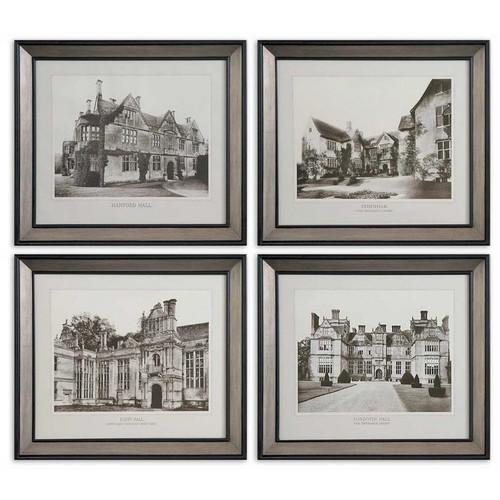 English Cottage Set of 4