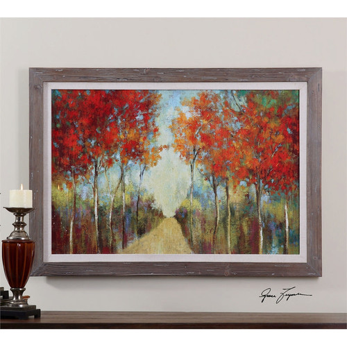 Nature's Walk a Prints Framed by Uttermost