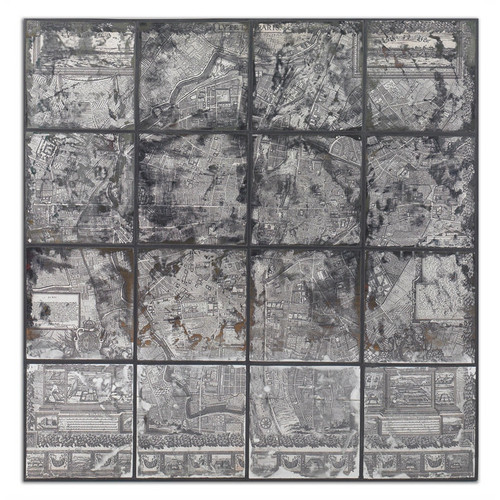 Antique Paris Map
