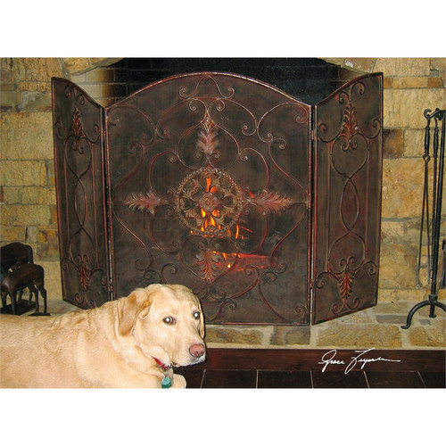Egan Fireplace Screen