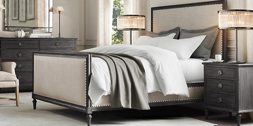 Bordeaux Queen Bed Suite Package (Black Oak)