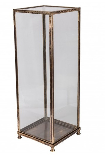 Chinoiserie Brass Vitrine