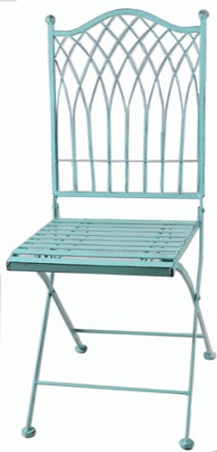 Vienna Outdoor Foldable Chair - Blue