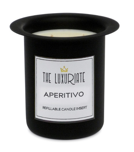 The Luxuriate Aperitivo Candle Refill Insert