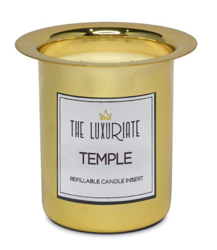 Luxuriate Temple Candle Insert