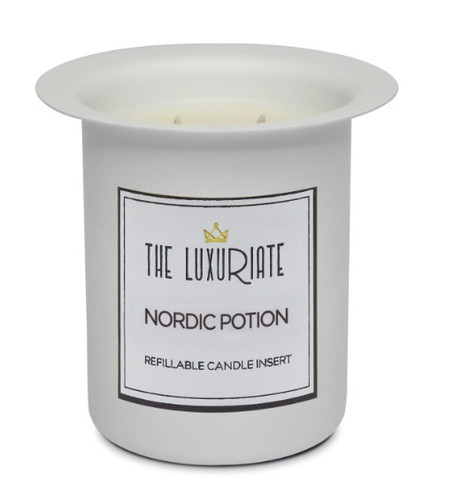 The Luxuriate Nordic Potion Candle Refill Insert