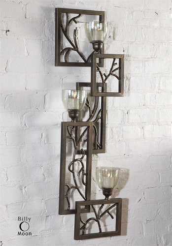 Iron Branches Wall Sconce by Uttermost