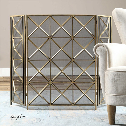 Akiva Fireplace Screen