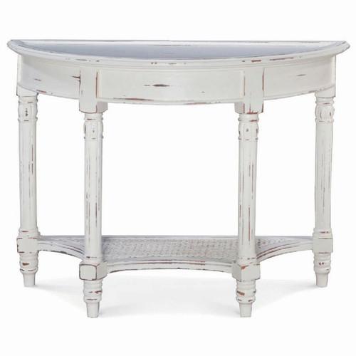 Montego Demi-lune Sofa Table - Size: 74H x 99W x 41D (cm)