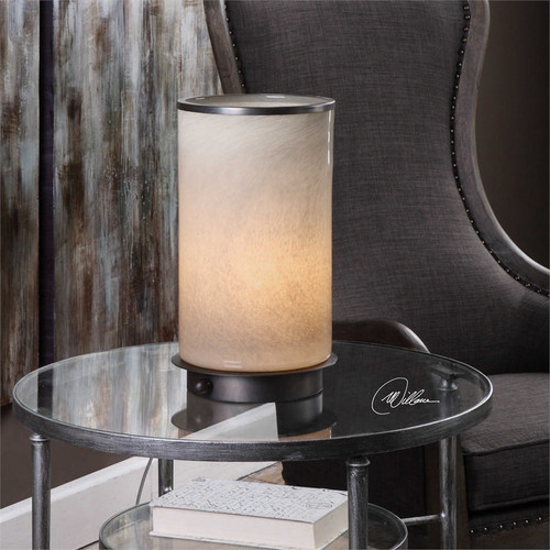 Arona Hurricane Lamp by Uttermost