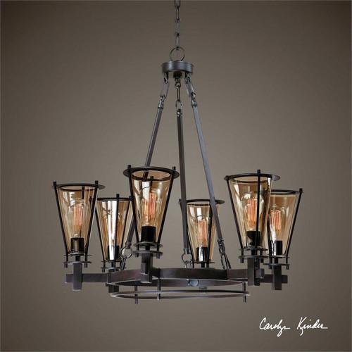 Frisco 6-Lamp Chandelier