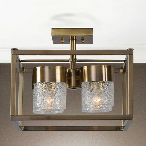 Marinot 4-Lamp Semi Flush Mount Light