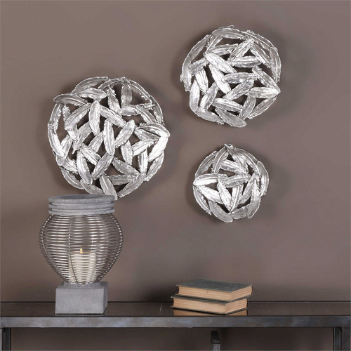 Quills Set/3 Wall Decor a Alternative Wall Decor by Uttermost